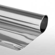 Extrem Pellicola solare adesiva per vetri Effetto specchio 75x300 cm Argento