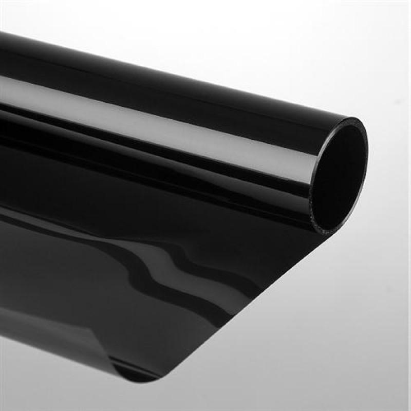 Sonnenschutzfolie 75 X 300 Cm Darkblack Schwarz 39 Extrem